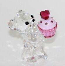 Swarovski Figur Kris Bär Pink Muffin Nr.5004484 mit Original Verpackung