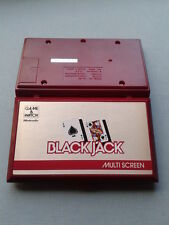 NINTENDO GAME&WATCH MULTISCREEN BLACK JACK BJ-60 MINT/NEAR MINT CONDITION SEE!!!