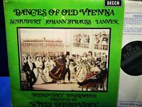$DECCA SXL 6344 WBg ED2 *1ST* BOSKOVSKY* DANCES OF OLD VIENNA* SCHUBERT /STRAUSS