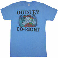Rocky and Bullwinkle Dudley Do-Right Adult T-Shirt