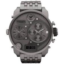 Diesel Men's DZ7247 'Mr. Daddy' Chronograph 4 Time Zones Stainless Steel Watch