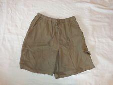 GLORIA VANDERBILT Khaki Tan Women's Casual Cargo Shorts - Size M SALE!