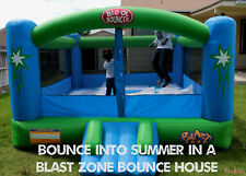 Inflatable Bounce House Kids Moonwalk Large Trampoline Outdoor Castle Play Child