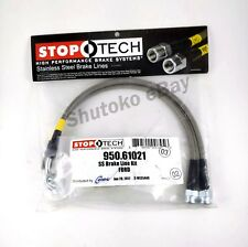 STOPTECH STAINLESS STEEL BRAIDED FRONT BRAKE LINES FOR 15-UP FORD MUSTANG GT