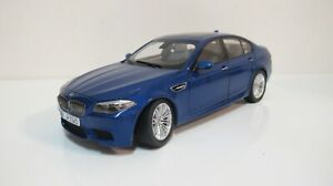 1:18 PARAGON BMW M5 F10 BLUE SEDAN (FULL OPEN) DIECAST CARS DEALER BOX