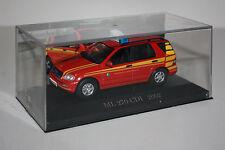 Mercedes Benz-ML 270 CDI W163 Feuerwehr-Bauj.2002-Fire Brigarde Car-Modell-IXO