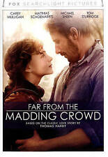 Far From the Madding Crowd (dvd) New Free Shipping