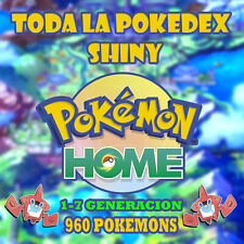 960 Pokemon shiny Home Espada y escudo PokeDex completa 1-7 Gen - Eventos/raros