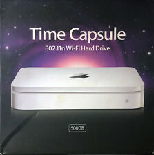 Genuine Apple Time Capsule Wi-Fi Hard Drive 500GB Wireless-N Router MB276LL/A