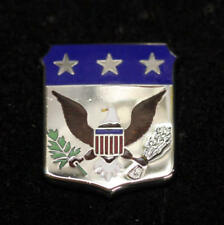 US SEAL EAGLE HAT LAPEL PIN USA WASHINGTON DC PEACE OLIVE BRANCH 13 ARROWS WAR