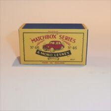 Matchbox Lesney 46 a Morris Minor 1000 empty Repro B style Box