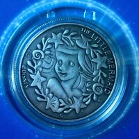 The Little Mermaid Ariel Disney Limited Edition 38mm Collectors Coin In Capsule