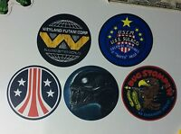 "ALIEN / ALIENS MOVIE LOGOS / ART ""FRIDGE MAGNET"" Collection - Large 3.5"" Dia!"