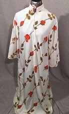 Christian Dior Bonwit Teller Vintage Half Zip Gown Robe Large L Vtg. Vintage