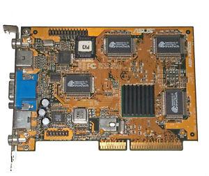 ASUS V3000 nVidia Riva 128 4MB AGP graphics card