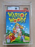 Nintendo NES usa ntsc warios woods ukg 90 mt mint Vtg Game sealed not vga wata