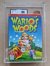 Nintendo NES usa Mario warios woods ukg 90 mt mint Game H SEAM sealed vga wata