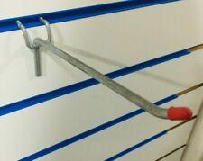"22 x 7"" SLAT WALL SLATWALL PRONG ARM HOOKS RETAIL DISPLAY SHOP FITTINGS"