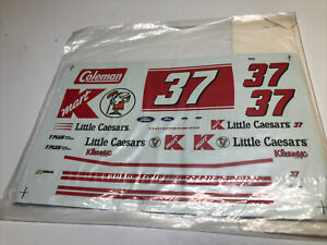 1/25 Scale #37 K Mart Little Caesars Stock Car Decal