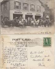CENTRAL FIRE STATION, NEW BEDFORD, MASS - POMPIERI VIGILI DEL FUOCO (USA) 1907