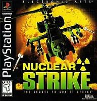 Nuclear Strike (PlayStation 1, PS1) Disc Only, Tested