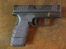 Black Textured Rubber Grips for the Springfield Armory XDM Compact .45 ACP