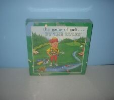 Sealed New 1993 Game of Golf By the Rules! Made by Trinity Games