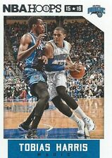 Tobias Harris NBA Hoops 2015-2016 Trading Card #90