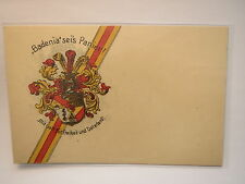 Mittweida - Landsmannschaft Badenia - Wappen / Studentika