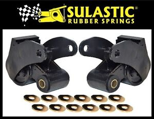 LEAF SPRING SHOCK ABSORBER |SULASTIC| SA-06F FOR FORD F-250 2017-2020