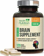 Brain Booster Super Nootropic Supplement for Focus, Energy, Memory, Clarity