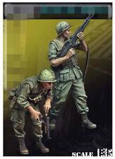resin figure model garage kit 1:35 Vietnam war 2 US soldiers RN2340 Resin Kit