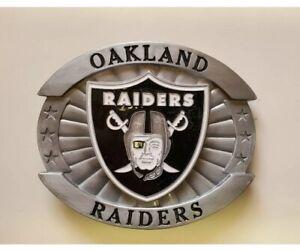 Siskiyou Sports NFL Oakland Raiders Belt Buckle New