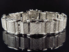 Pulseras de joyería de metales preciosos sin piedras brazaletes blanco