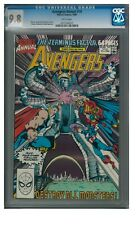 Avengers Annual #19 (1990) Marvel Comics CGC 9.8 White Pages ZZ379