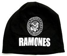 Ramones jersey beanie