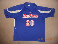 ad76b8bb6 DePaul University Blue Demons Adidas Jersey  26 XL Volleyball Soccer XL Big  East