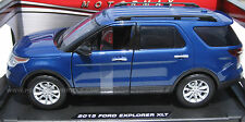 Motormax 1/18 2015 Ford Explorer XLT BLUE