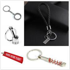 5pcs/set Multi-function Metal Key Chain Creative Gift Car Ring Keychain Keyfob