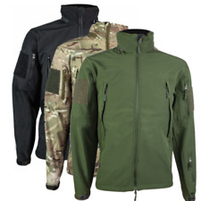 Highlander Tactical Softshell Jacket Water Resistant HC Army Style Camo green