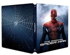 THE AMAZING SPIDER-MAN - STEELBOOK EDITION (BLU-RAY) Andrew Garfield, Emma Stone