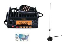Yaesu FT-2980R 80W FM 2M Mobile Transceiver with Comet M-24M Mag-Mount Antenna