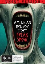 American Horror Story : Season 4 (DVD, 2015, 4-Disc Set)