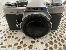 Vintage Olympus OM2N MD Silver Body 35mm Film SLR