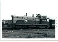 F702 RP 1972 BELT RAILWAY OF CHICAGO TRAIN ENGINE #506  CLEARING IL
