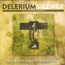 DJ TIESTO Delerium Silence CDSingle 2 track SARAH McLACHLAN In Search of Sunrise