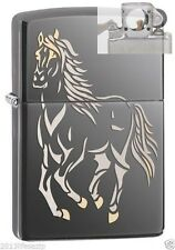 Zippo 28645 galloping horse Lighter with PIPE INSERT PL