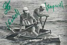PAVEL CHARIN *URS*  > 1.+ 2. Olympics 1956 / CAN - sign. Foto