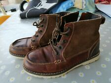 Next Boys Leather Boots Size 13