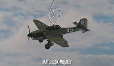 WWII Junker Ju 87 Stuka Single Prop Christmas Ornament Airplane Plane Aircraft